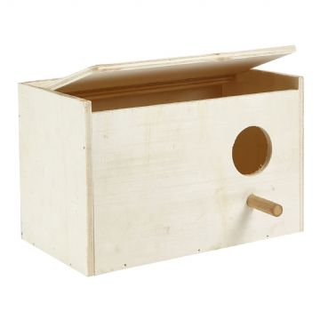Pet Ting Wooden Budgie Nesting Box